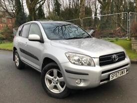 2008 TOYOTA RAV4 XTR D-4D DIESEL FAMILY SIZE CAR RELIABLE& ECONOMICAL MUST SEE