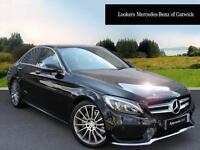 Mercedes-Benz C Class C200 D AMG LINE PREMIUM PLUS (black) 2016-09-20