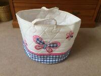 Jo Jo Maman Bebe storage basket for babies/ children