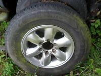 NISSAN TERRANO ALLOY WHEEL ALL PARTS AVAILABLE