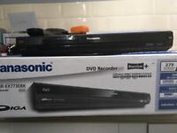 Panasonic dmr ex 773ebk dvd recorder with free view+