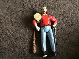 WWE classic figure + accessories / toys