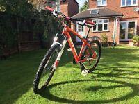 "Vitus Zircon 0.1 Hardtail Mountain Bike (size 16"")"
