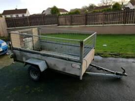 8ftx 4ft galvanised trailer