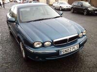 2002 02 Jaguar X-TYPE 2.1 V6 Classic ** ONLY 64500 MILES ** MOT DECEMBER 2017 **
