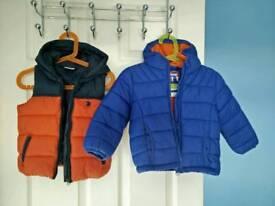 Baby boy jackets 12-18