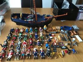 Huge Playmobil Bundle incl Pirate Ship