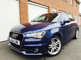 2012 12 Audi A1 S-Line 1.4 TFSI 5dr **LOW MILES 40k**CAT C REPAIRED** not 120d a3 2.0 1.6 golf polo