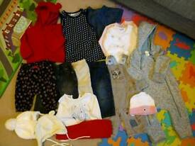 Baby girl clothes bundle, 3-6 mths