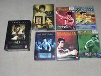 BRUCE LEE ASSORTED DVDs