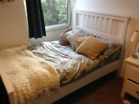 IKEA DOUBLE BED - PERFECT CONDITION - £100