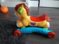 Vtech ride and rock horse