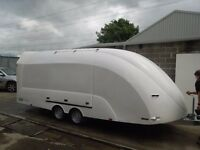 Enclosed Car Trailer, Race Trailer (Hire) - Merseyside, Cheshire, Lancs, Manchester