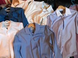 9 Next Shirts/ 1 Burton new/like new