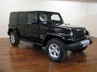 2015 Jeep WRANGLER UNLIMITED Unlimited Sahara 4X4 CUIR NAV  LOCA