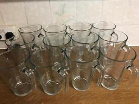 Glass jugs