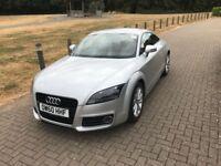 Silver Audi TT, Red Leather, SatNav, parking sensors