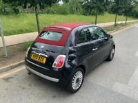 2010 Fiat 500c Convertible 1.2 manual,genuine low miles 46000, drives superb,long mot,great cond