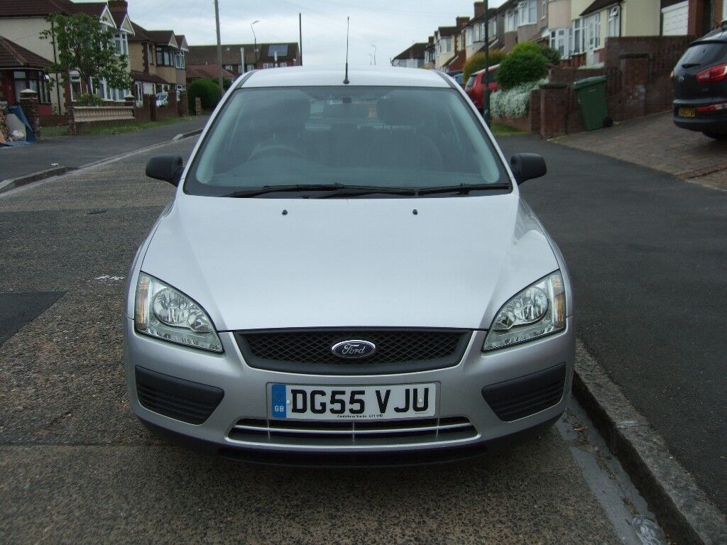 2005 55 REG FORD FOCUS 1.6 LX 5 DOOR, MANUAL, METALLIC SILVER, 1 ...