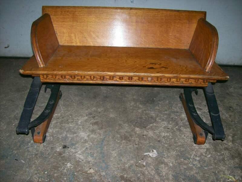 ANTIQUE BUCKBOARD SEAT