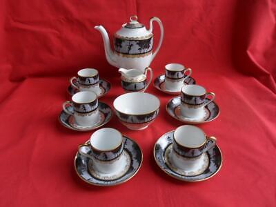 Pheonix China (Czechoslovakia) Dancing Ladies design Coffee Set for sale  Shipping to Ireland