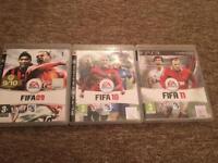 Fifa 09 Fifa 10 or Fifa 11 PS3
