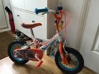 "Disney planes kids 14"" bicycle"
