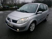 **2006/55 RENAULT G-SCENIC 7 SEATER 1.6 DYN LONG MOT F.S.H S/KEYS 100% TOP RUNNER**