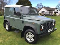 2007 LAND ROVER DEFENDER 90 H/T***LOW MILES***EXCELLENT CONDITION***WARRANTY***PX/FINANCE ARRANGED**