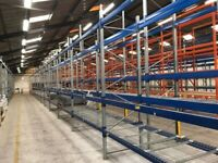 BITO STORAGE SYSTEM WAREHOUSE PALLET RACKING FRAMES & BEAMS (Brentwood Branch)