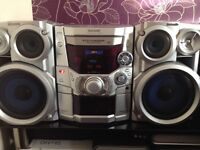 panasonic stereo CD,MP3 with remote controller
