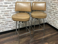 Retro Swivel Bar Stools