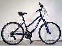 "(2085) 26"" 17"" Lightweight Aluminium MARIN ADULT HYBRID BIKE/BICYCLE; Height: 163-183 cm(5'4""-6'0"")"