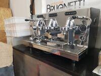 Brand New Italian Giulia Brugnetti 3 Group coffee machine