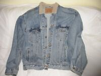 Levi Jean Jacket with Corduroy Collar - Brand new