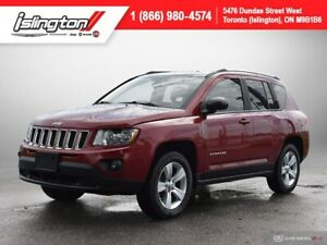 2012 Jeep Compass North **DEEP CHERRY!!** LOW KM HEATED SEATS+++