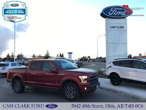 2015 Ford F-150 Lariat w/ Power Running Boards