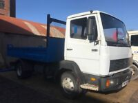 1994 Mercedes 814 7.5t Tipper body PSV ready for use