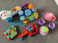 Baby toys and musical instruments