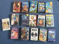 VHS video bundle