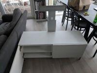 IKEA Besta TV stand with Uppleva Mount
