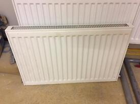 Single convector radiator