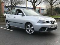 2008 SEAT IBIZA SPORT 1.4 *5 DOOR *6 SERVICE STAMPS * MOT * ALLOYS * 5 DOOR * PX * DELIVERY