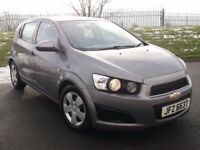 2012 CHEVROLET AVEO 1.2 5 DOOR *SAME AS CORSA* GROUP 2 INSURANCE LIKE FIESTA CLIO MINI 500 207 C3
