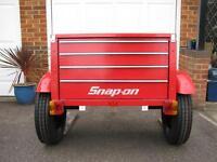 Trike or hotrod trailer.