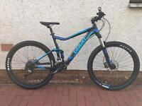 Giant Stance 27.5 large frame full suspension mountain bike