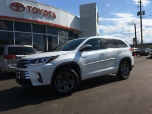 2017 Toyota Highlander Hybrid LIMITED, PANORAMIC ROOF, LEATHER,