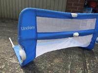 Lindam Easy fit bed guard-blue