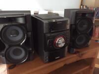 Sony stereo music system