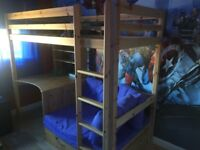 Thuka high sleeper bed